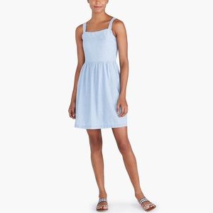 NWT J Crew Chambray Apron Dress  XL